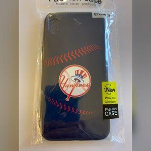 XR iPhone Blue Yankee Phone Case